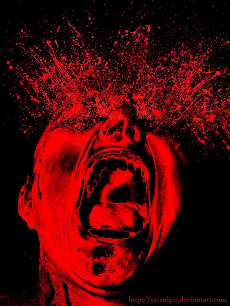 The splash of rage. by Artculpit