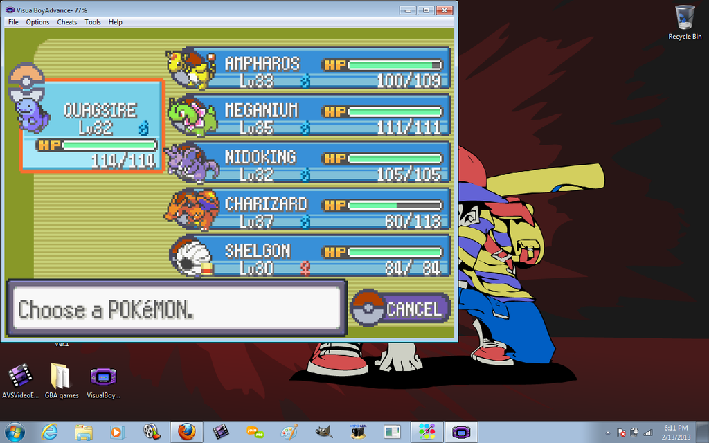 play pokemon games online