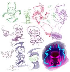 Florpus Doodles