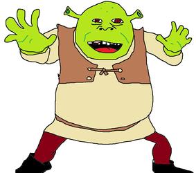 Shrek by Miidd