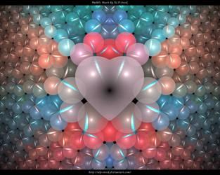 Bubble Heart by ALP-Stock