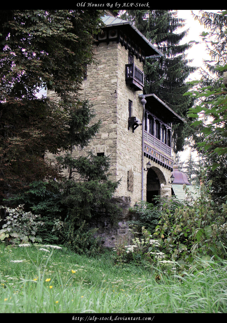 Old Houses BG 01 by ALP-Stock