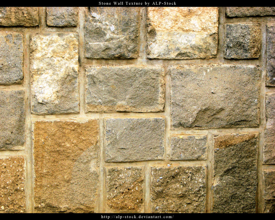 Stone Wall Texture by ALP Stock on DeviantArt