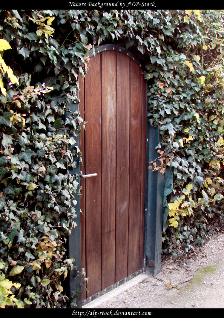 Garden Door by ALP Stock on DeviantArt