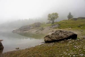 Lac de Tanay - Fog 05 by ALP-Stock