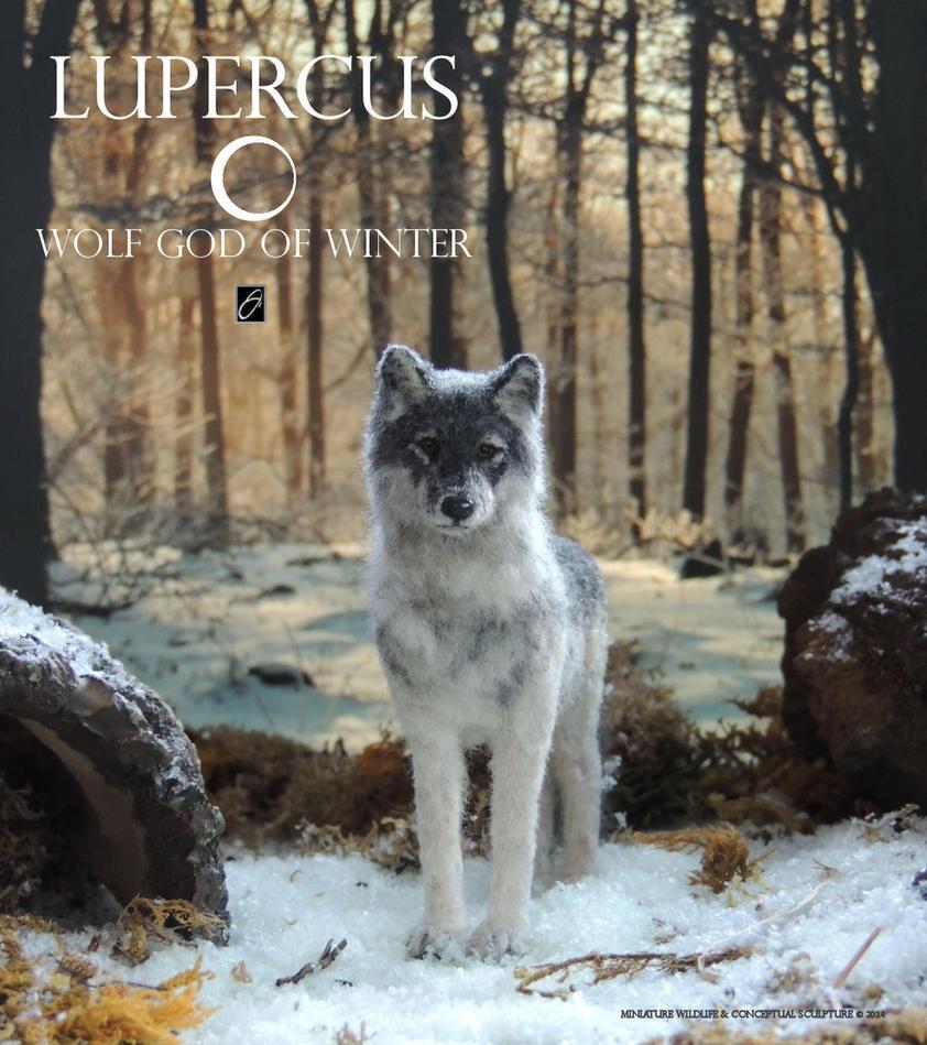 Lupercus - gray wolf by AnyaStone