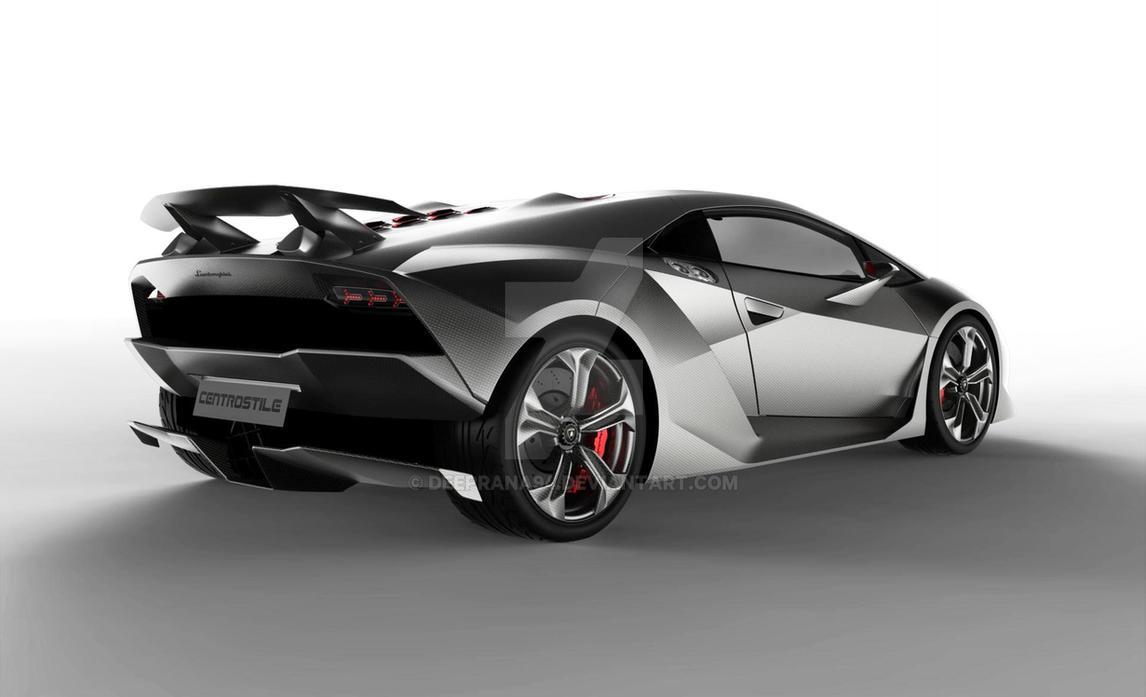 Lamborghini Sesto Elemento by deeprana94