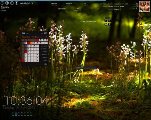 1st Desktop of Win8PROWMC