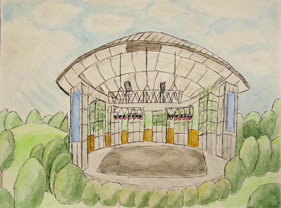 Frederick Meijer Gardens Amphitheater By Jurries21 On Deviantart