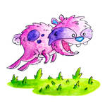 Monster of the Day #790 Leaping Bunny Monster