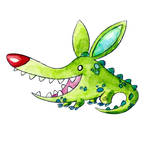 Monster of the Day #794 Crocodile Bunny Monster