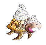 Monster of the Day #804 Turtle Pie Monster