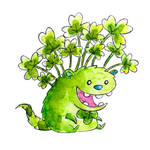 Monster of the Day #807 Shamrock Monster!
