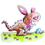 Monster of the Day #817. Chocolate Bunny-Rex