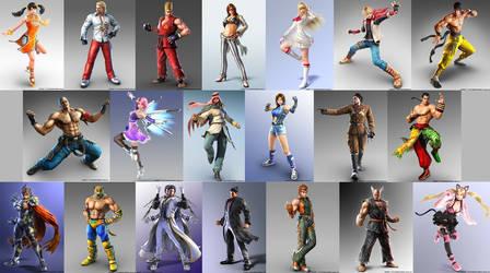 Tekken 7 CG renders