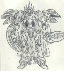 Giant Knight by darkbeowulf