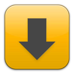 'Downloads' Icon in Flurry by asmodeopt