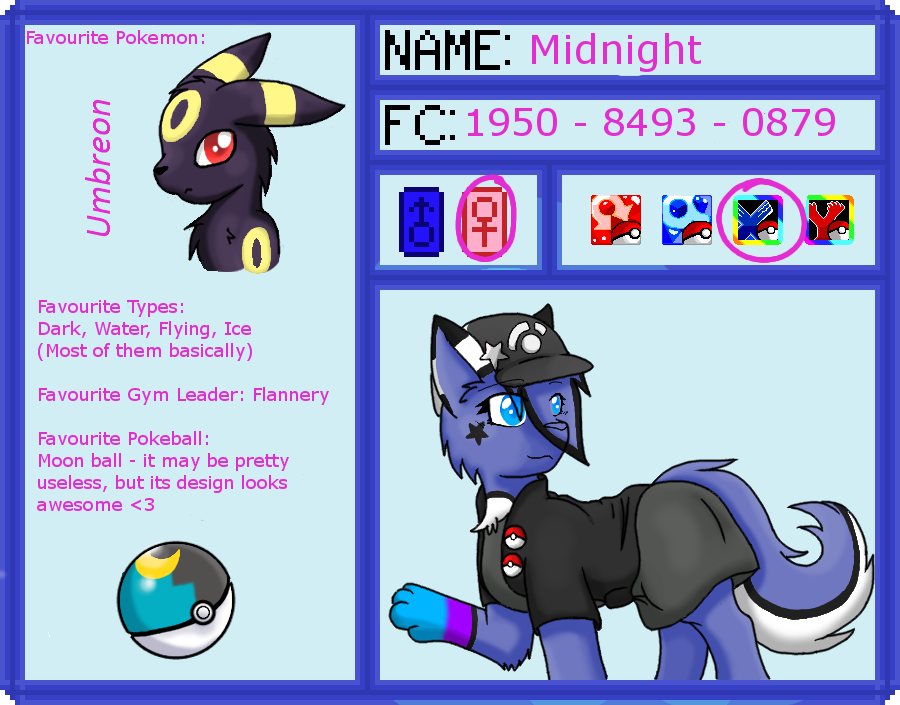 Trainer Application WIP by MidnightTheUmbreon