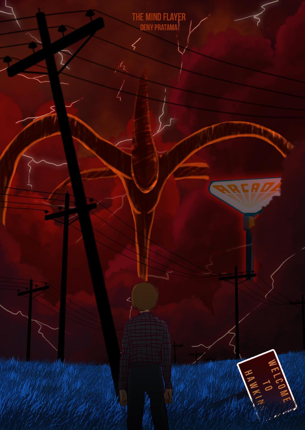 Stranger Things The Mind Flayer By Hanamurayosuke0 On Deviantart