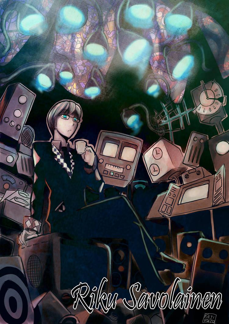 Riku Ilustration by kajipato