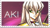 Aki Stamp by Mangmod