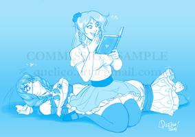 Commission: Cvet Book