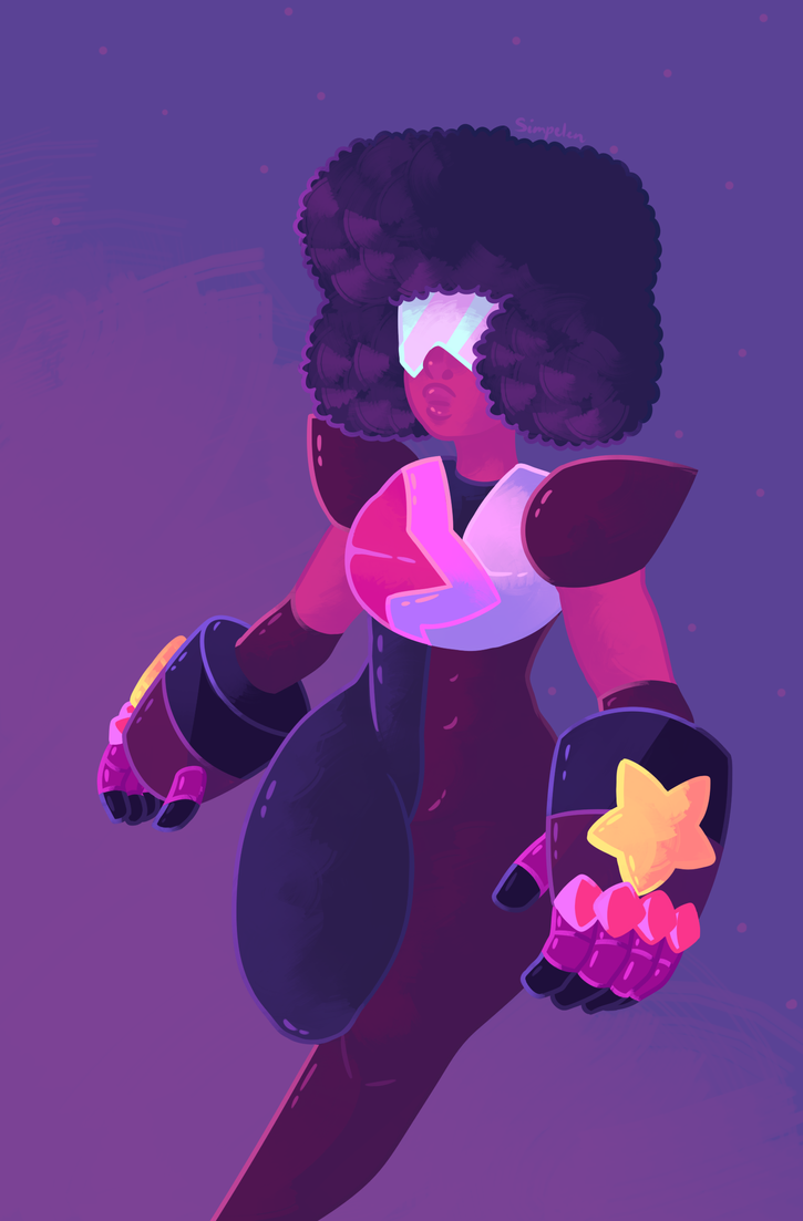 wanted to draw garnet moving Steven Universe  © Rebecca Sugar Artwork  © me