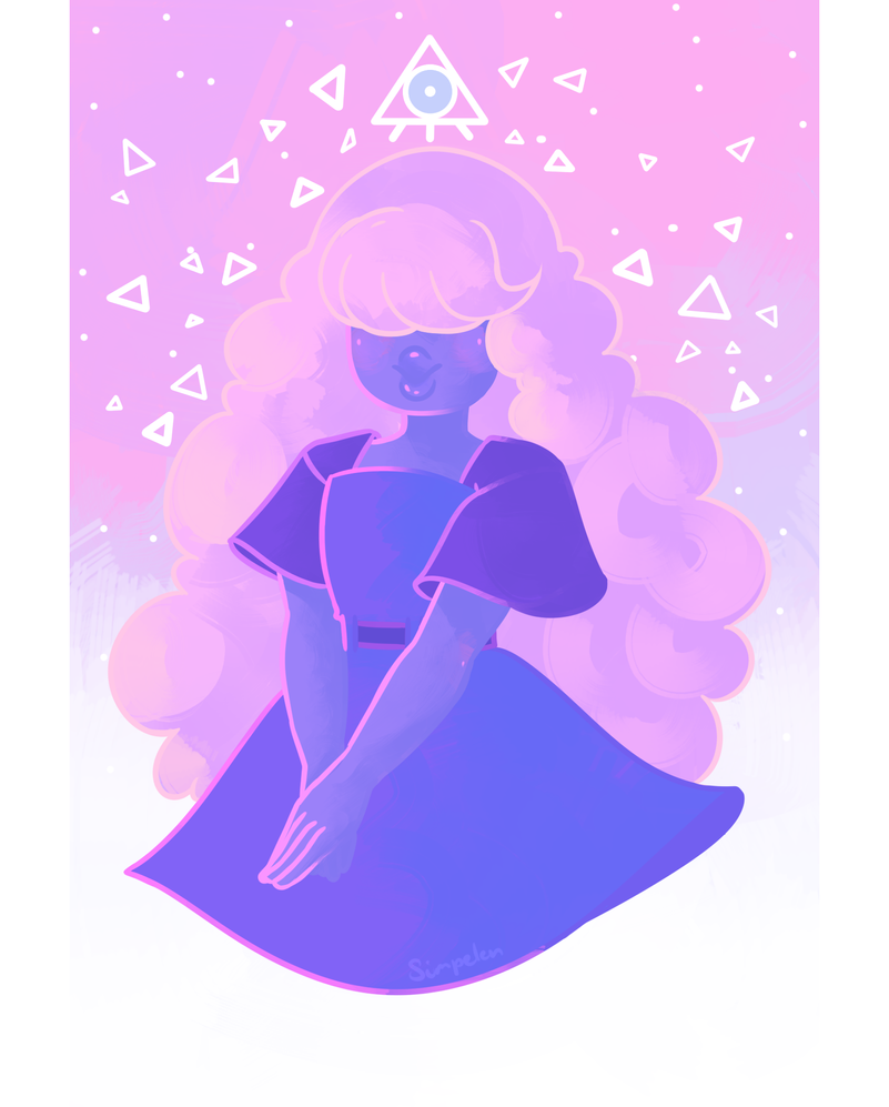 the HUMAN clairvoyant sophie who can predict the HUMAN future and is in no way connected to the illuminati nope no gems here move along Steven Universe  © Rebecca Sugar Artwork ...