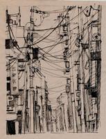 drawing ink by Konnova
