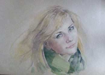aquarelle by Konnova
