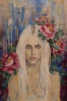 portrait by Konnova