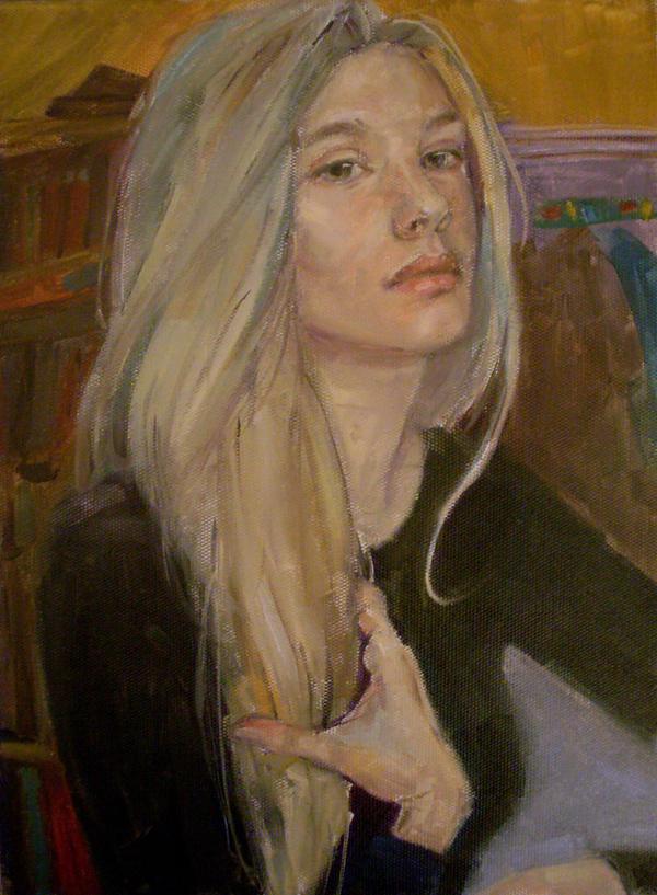 portrait 101 by Konnova