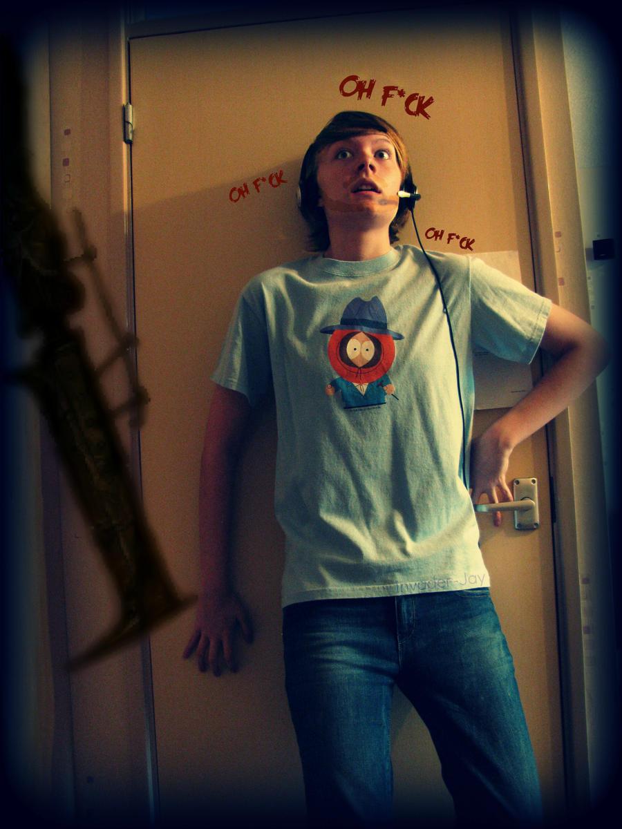 Pewdiepie Cosplay: Cornered by Invader-Jay on DeviantArt