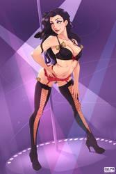 Stripper Asami by owlerart