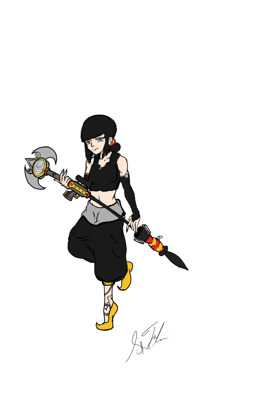 Reine Neri of Team ARSC by SirFlairTheFabulous
