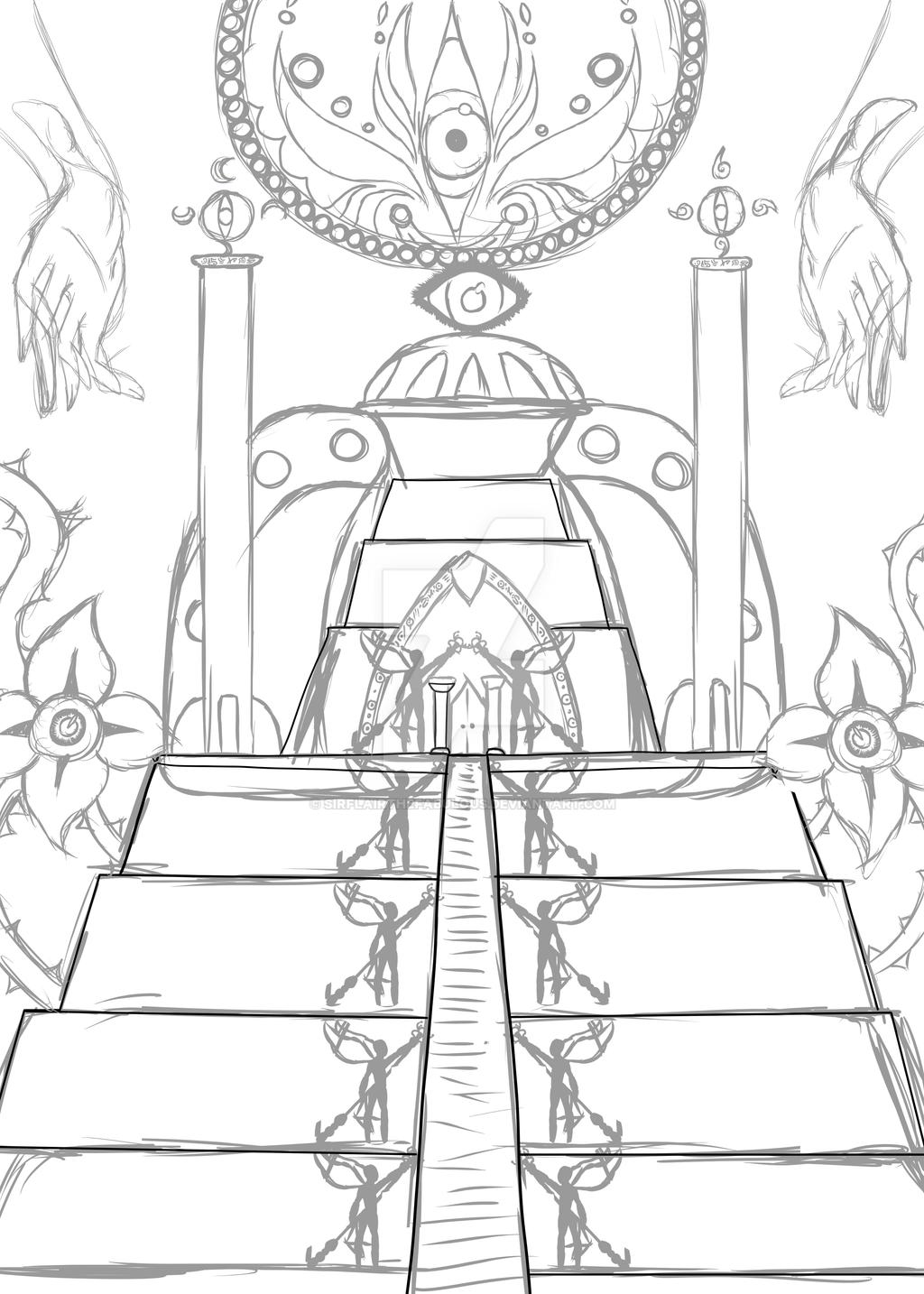 A sketch (blegh) by SirFlairTheFabulous