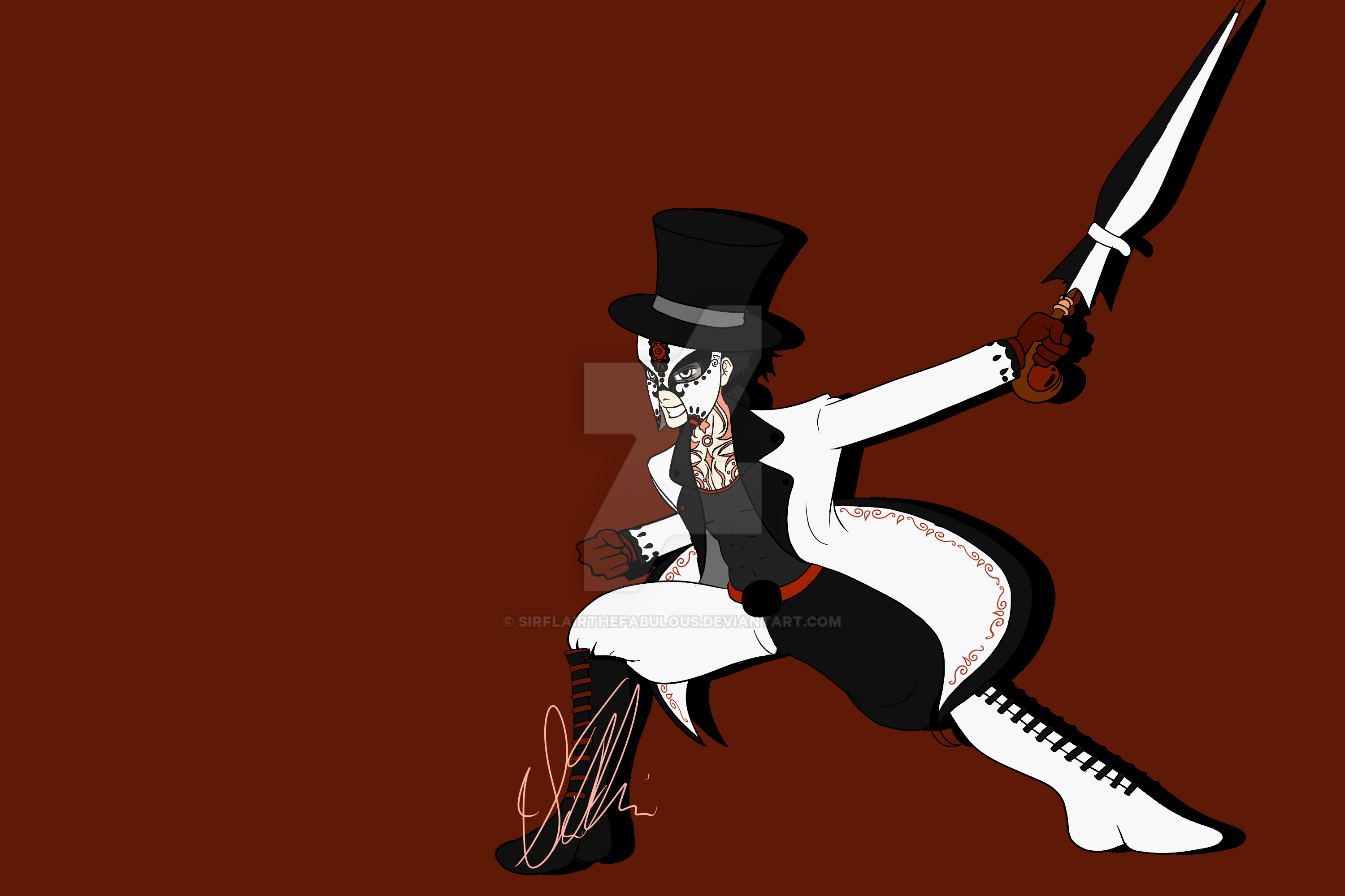 The Ringmaster by SirFlairTheFabulous