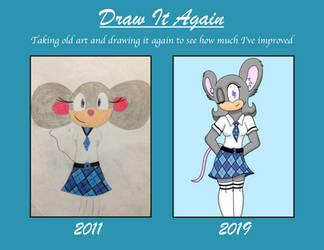 Draw It Again - 2019 by VenusGriffin