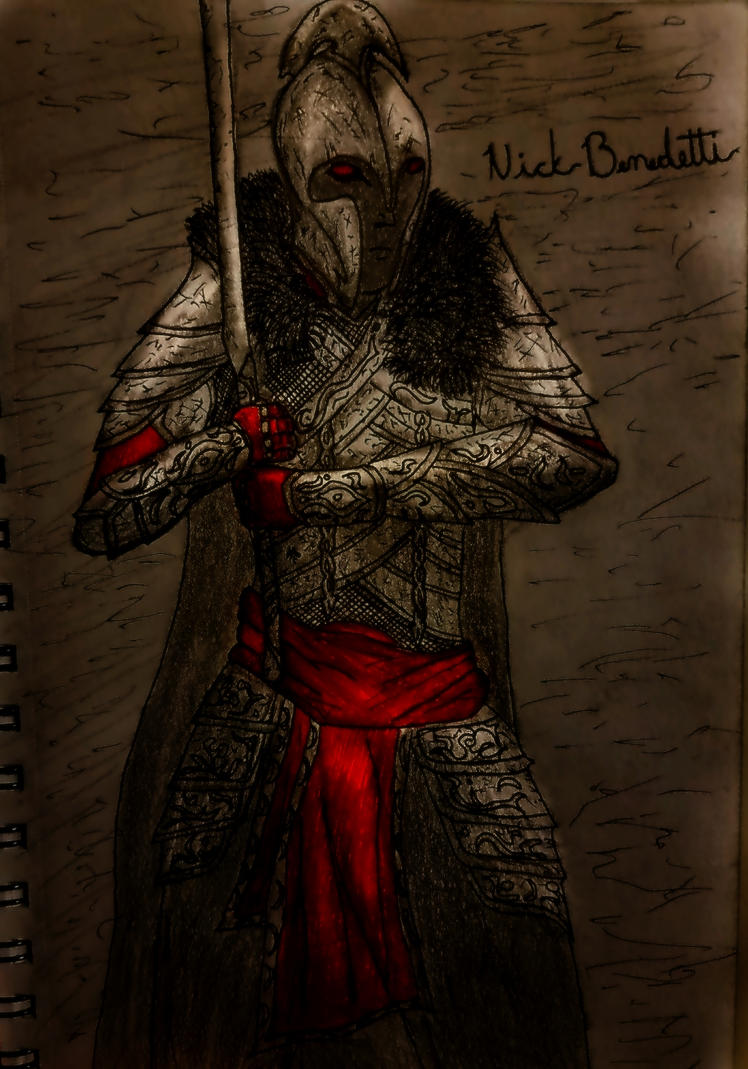 My skyrim Character by ItalianRecluse
