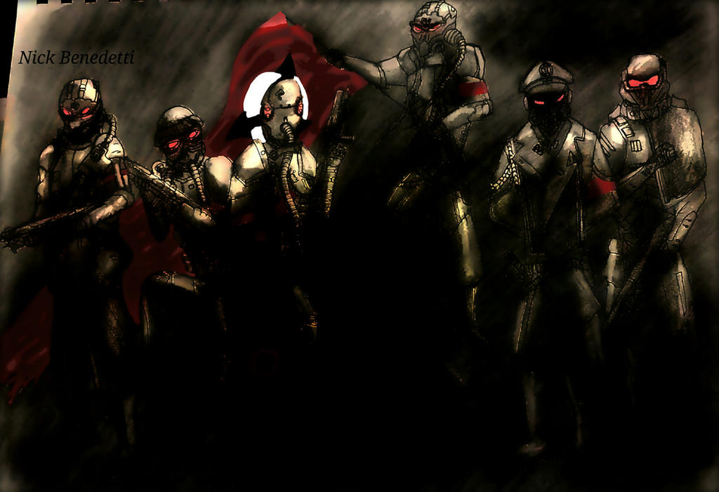 My Helghast Army by ItalianRecluse