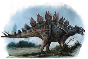 Huayangosaurus taibaii by cheungchungtat