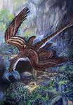 Microraptor gui  Hunting