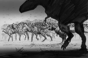 Zebras Maze--Nipponosaurus by cheungchungtat