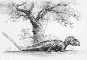 Gorgosaurus by cheungchungtat