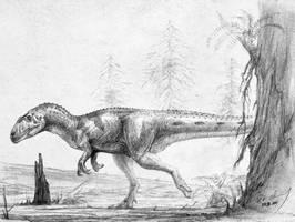 Piatnitzkysaurus floresi by cheungchungtat