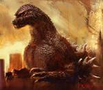 Godzilla 1991 by cheungchungtat
