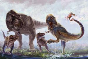 Little Rex Adventures by cheungchungtat