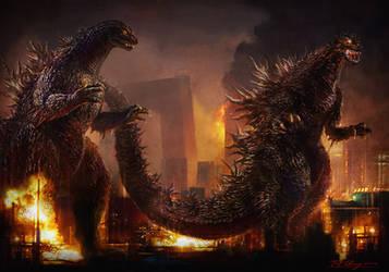 Godzilla Partner by cheungchungtat
