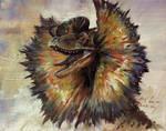 Study of JP Dilophosaurus Head