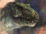 Study of JP2 Male T-rex Head